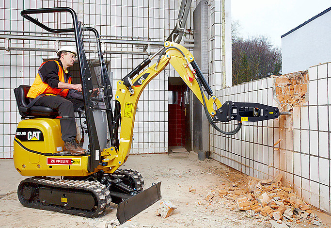 HAMMER ATTACHMENT CAT 300.9D