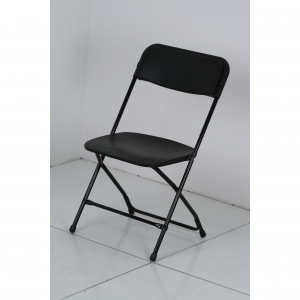 LARGE DIMENSION COMFORT PLASTIC FOLDING CHAIR