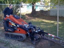 MINI SKIDSTEER TRENCHER ATTACHMENT
