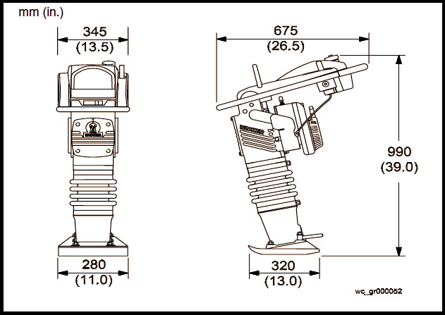 aspen rent all rh aspenrentall com wacker bs500 parts diagram Wacker BS600 Parts Breakdown